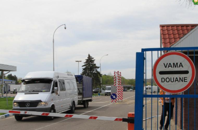 Începînd de astăzi, la frontiera moldo-română patrulează echipe mixte
