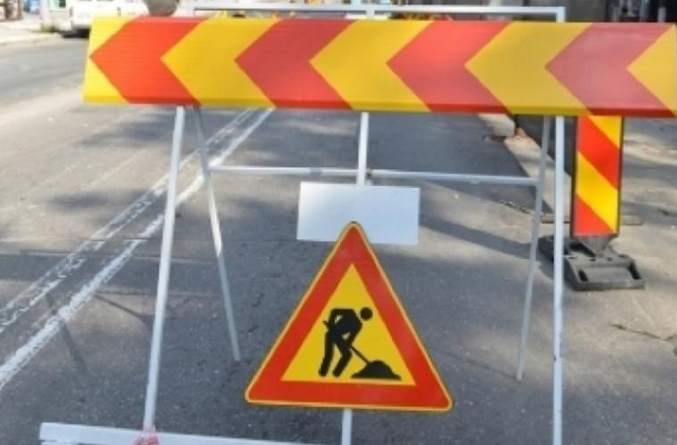 Traficul rutier va fi oprit pe str. Florilor și str. Studenților