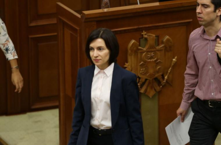 SUA recunoaşte guvernul Sandu şi Parlamentul din Republica Moldova