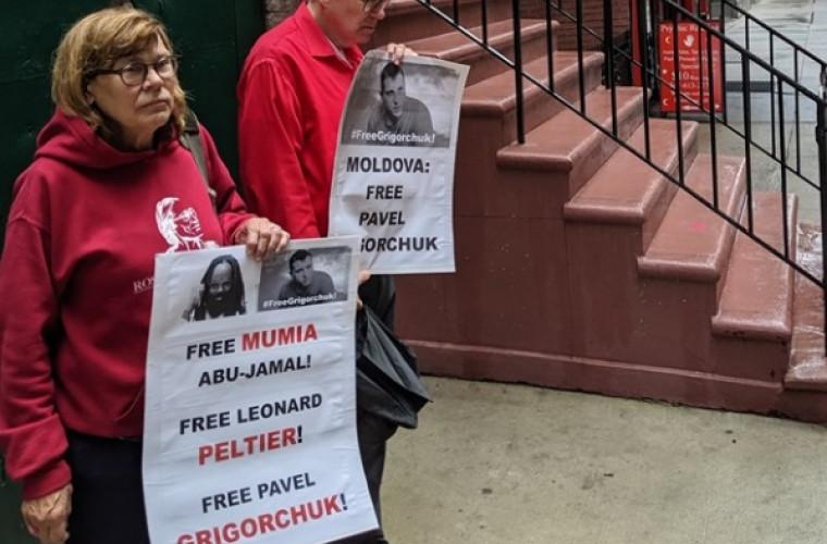 Protest pentru eliberarea lui Pavel Grigorciuc