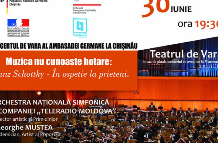 Ambasada Germaniei invită la un concert