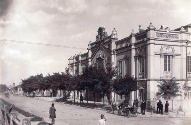 Turnul de Apă de la intersecția străzilor Veronica Micle și Alecsandri (FOTO)