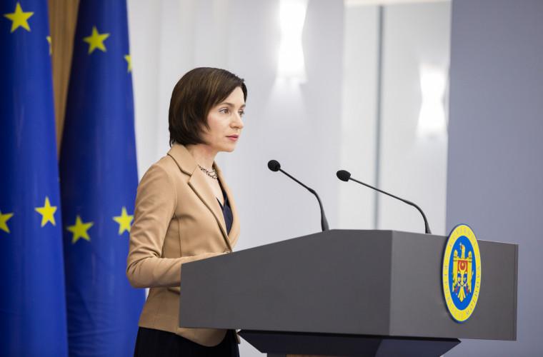 Maia Sandu se va întîlni cu moldovenii din Germania