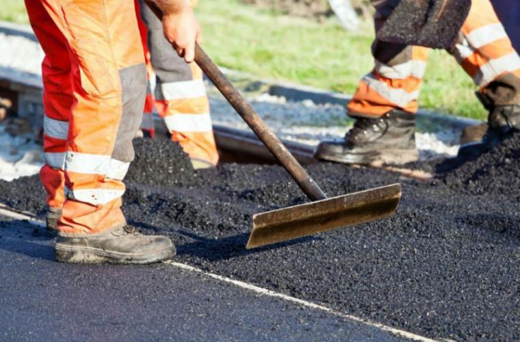 Un drum care urma să fie reparat de UE, va fi reabilitat de turci