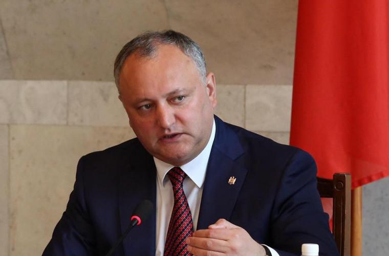 Dodon: Următorul primar de Chișinău va fi sau de la PSRM, sau de la ACUM