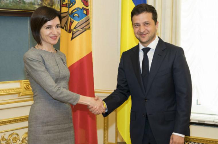 Sandu: Am vrea să îmbunătățim relațiile bilaterale cu Ucraina