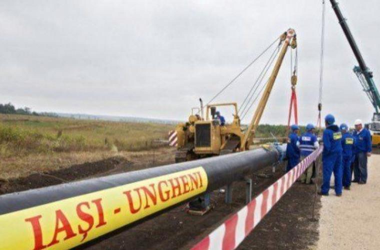 Cînd ar putea livra gaze gazoductul Iași-Ungheni-Chișinău