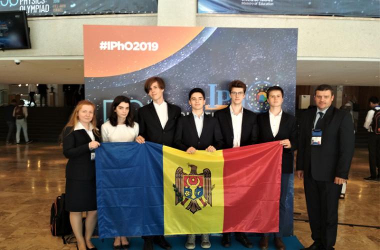 Bronz pentru R. Moldova la Olimpiada Internațională de Fizică