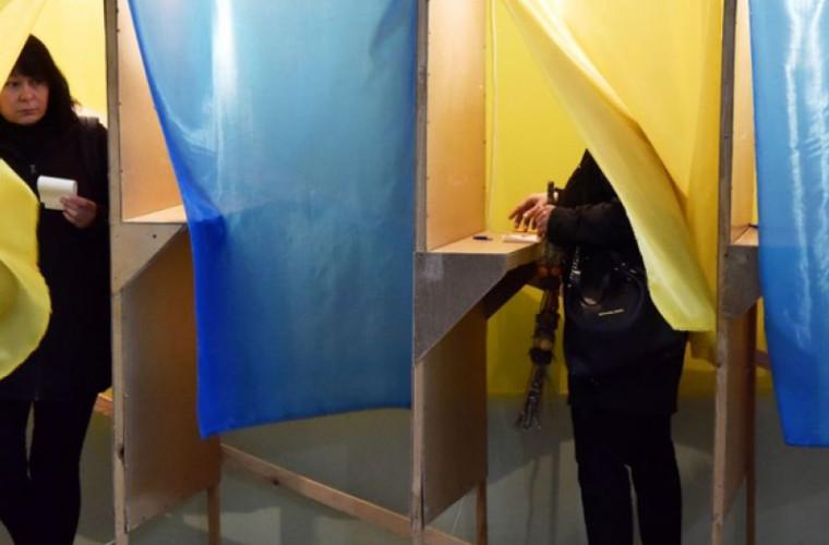 Cum au votat ucrainenii din Republica Moldova la alegerile din Ucraina