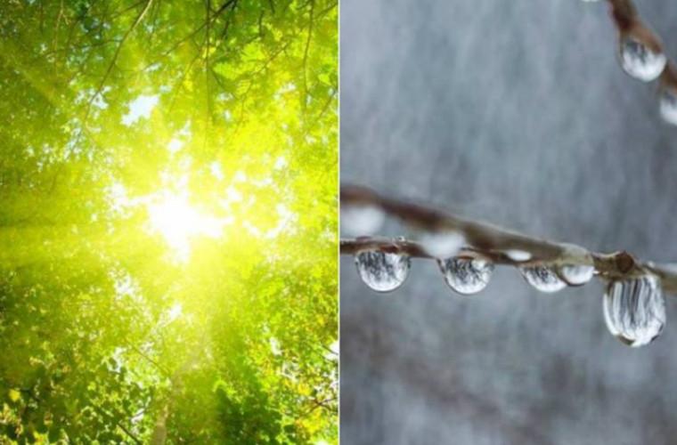 Contrast de caniculă şi ploi. Cum va fi vremea săptămîna viitoare