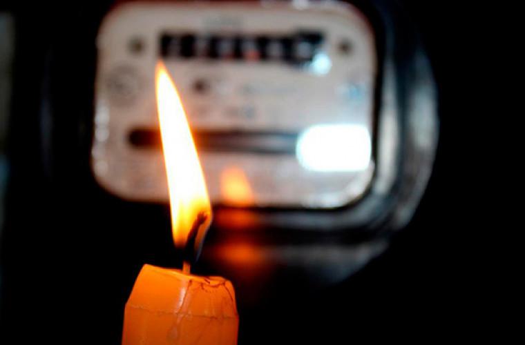 Deconectări de lumină, programate pentru 30 iulie