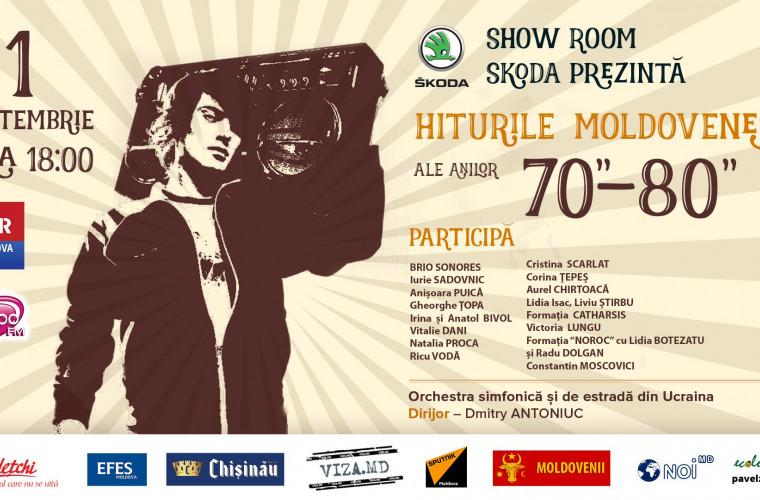 Ce trebuie să știi despre ineditul concert - Hituri moldovenești din anii 70-80! (VIDEO)