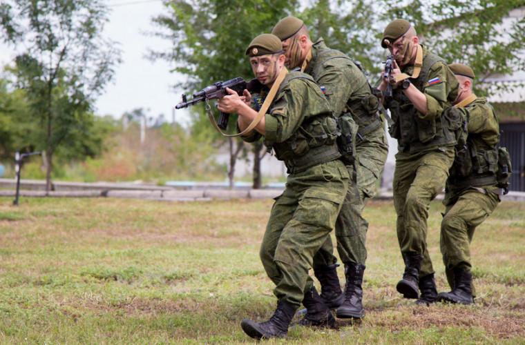 """În Transnistria au început jocurile armate internaționale """"Războinicul Comunităţii-2019"""""""