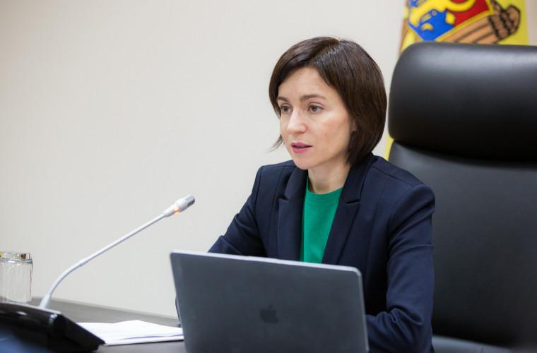 Se caută secretari generali în cinci ministere. Mesajul Maiei Sandu