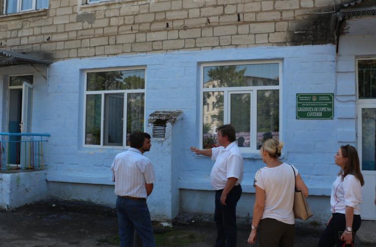 O grădinița din Cantemir va fi reechipată în scopuri de eficienţă energetică