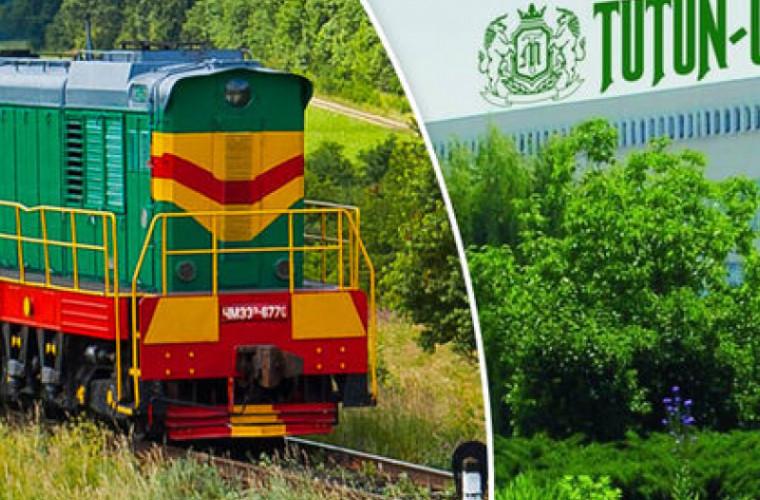 Mold-street: Tutun-CTC a blocat trecerea vagoanelor pe teritoriul întreprinderii
