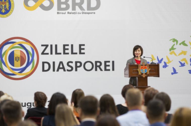 Sandu și Dodon au transmis un mesaj moldovenilor din diasporă