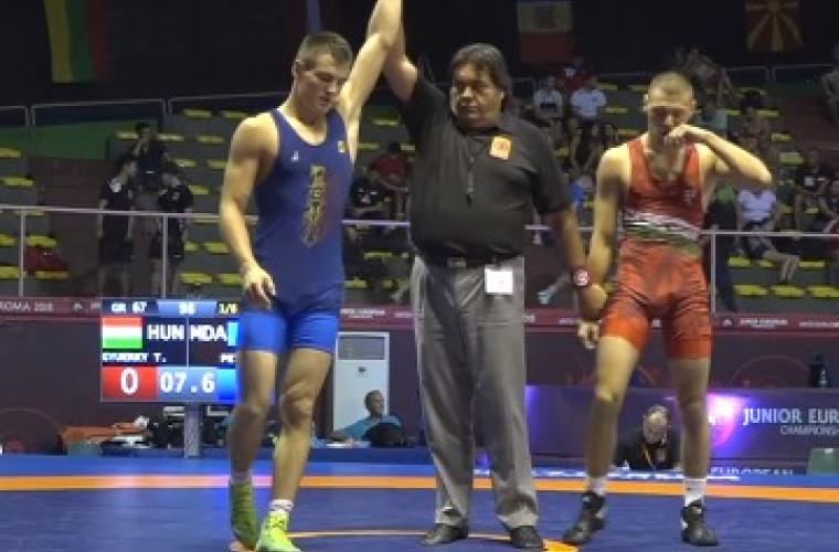 Un sportiv moldovean a cucerit bronzul la Campionatul Mondial de lupte