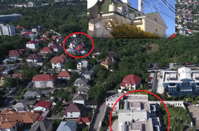 Luncașu locuia în apropiere de Casa Albă, atribuită lui Plahotniuc