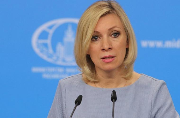 Zaharova l-a comentat pe Zelenski care a corelat revenirea Rusiei în G8 cu Crimeea și Donbass