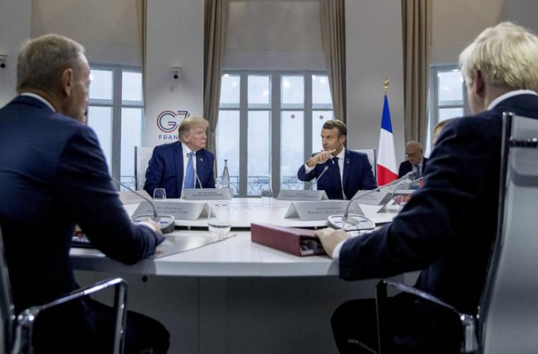 Trump s-a certat cu liderii G7 din cauza Rusiei