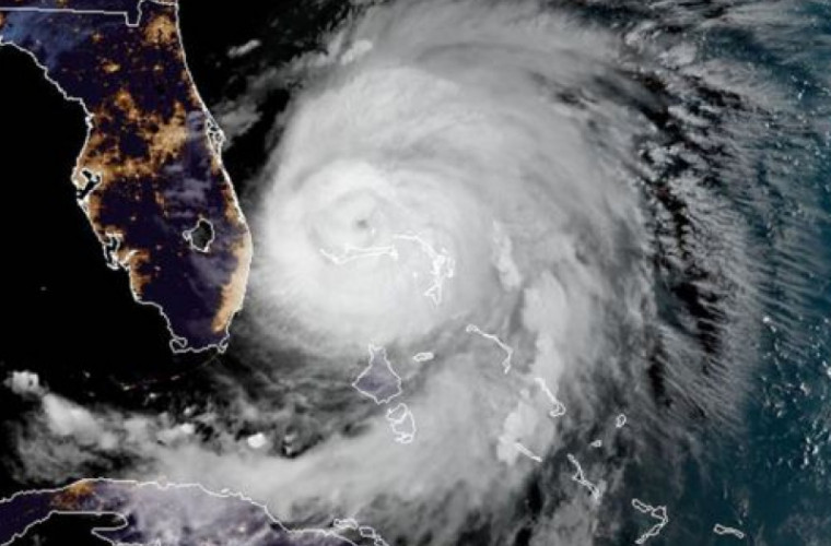 Uraganul Dorian a ajuns în Bahamas și s-a potolit