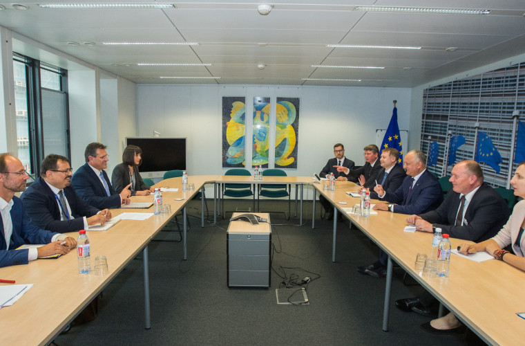 Moldova solicită de la UE un împrumut urgent pentru cumpărarea și depozitarea gazelor