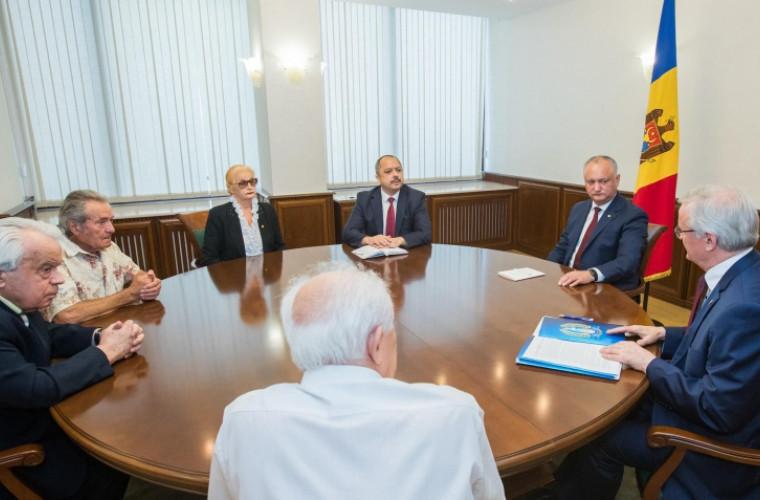 Igor Dodon va ajuta la readucerea la normalitate a sistemului de cercetare și inovare din Republica Moldova