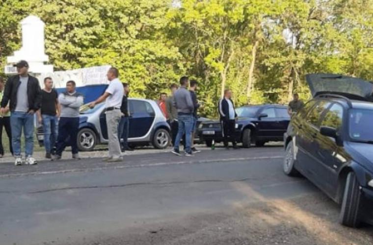 Traseul Orhei-Călaraşi blocat de protestatari (VIDEO)