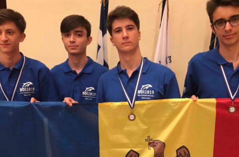 La Olimpiada Balcanică de Informatică Moldova a obținut trei medalii de bronz