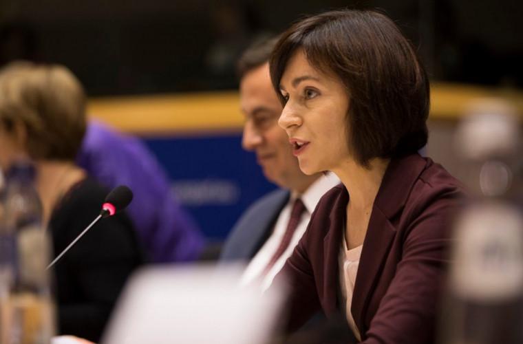 Sandu salută candidatura lui Kovesi la funcția de procuror-șef european