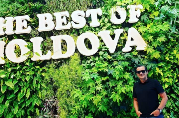 Brazilianul care a fost în circa 140 de țări, a vizitat și Moldova