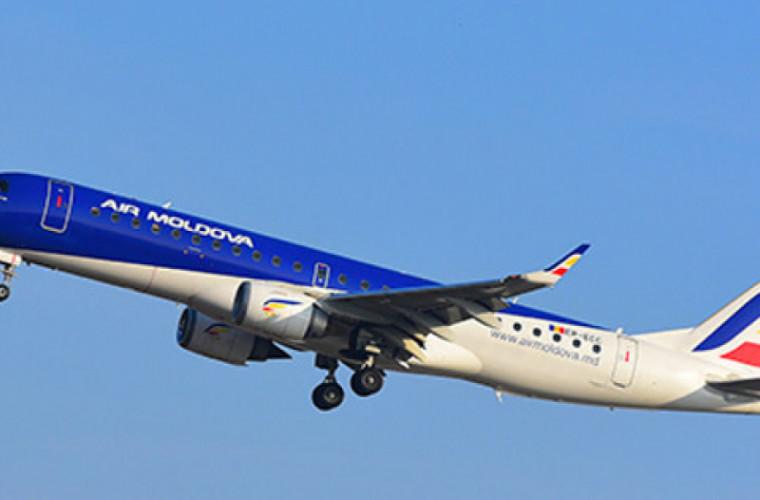 """Pe bunurile """"Air Moldova"""" a fost pus sechestru în cadrul unui dosar de spălare de bani"""