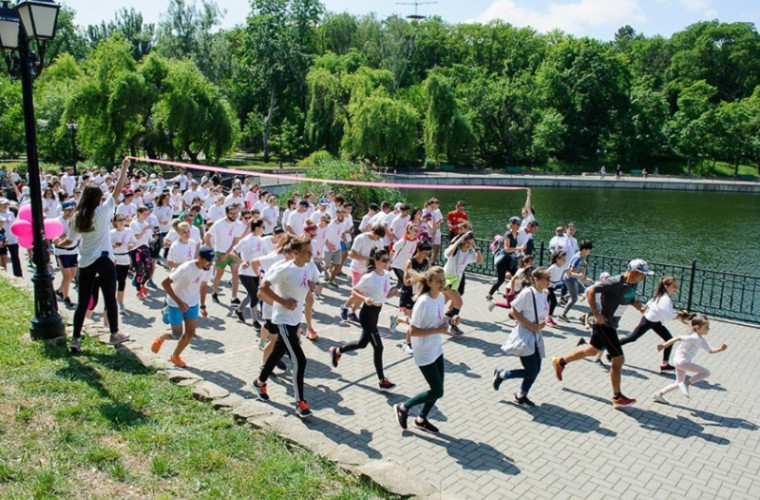 Run Pink - Race for the Cure Moldova