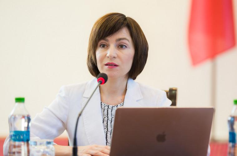 Sandu: Moldova nu va semna niciun document privind Transnistria, care să contravină intereselor sale
