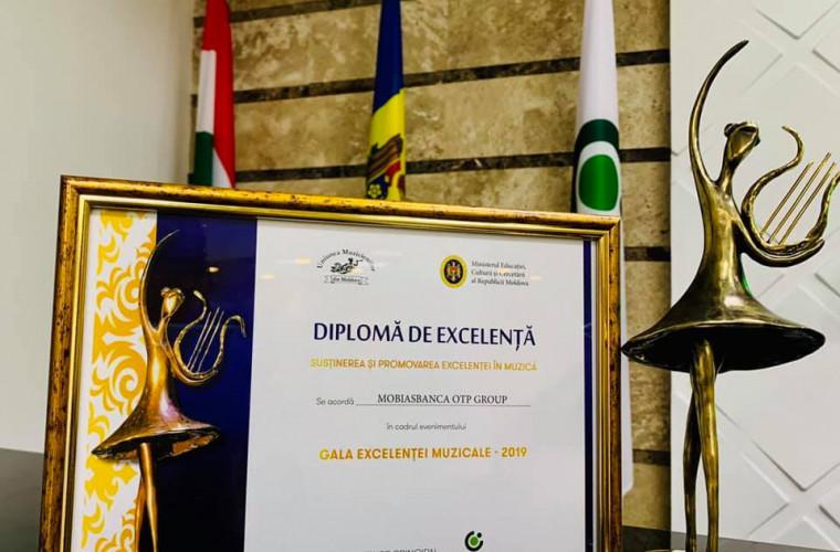 Mobiasbanca OTP-Group nominalizată la Gala Excelenței Muzicale 2019