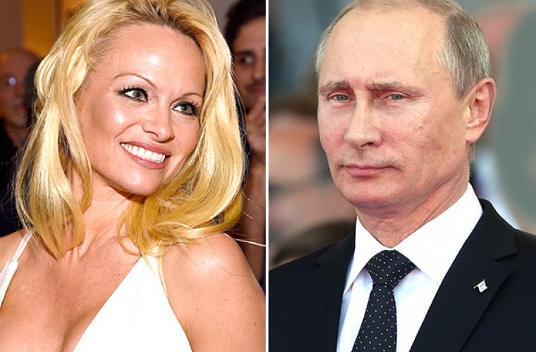 Pamela Anderson i-a mulțumit lui Putin