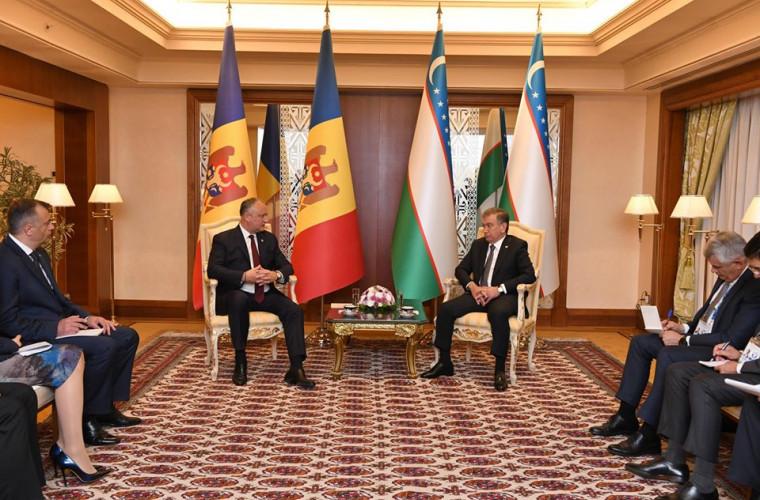 Președintele Republicii Moldova va vizita Uzbekistanul