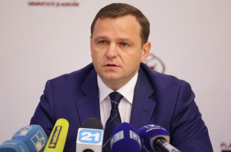Briefing de presă susținut de candidatul Blocului ACUM, Andrei Năstase