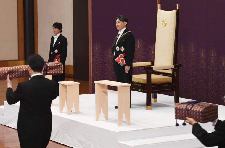 Dodon a plecat la Tokyo la ceremonia de încoronare a împăratului Naruhito (VIDEO)