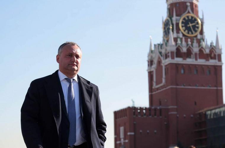 Dodon s-a întîlnit la Moscova cu Kozak și i-a înmînat un ordin lui Karasin