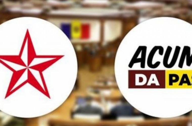 PSRM și ACUM au ajuns la un numitor comun privind cooperarea la nivel local