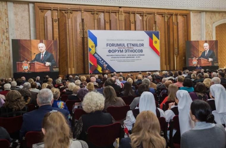 Şeful statului a participat la cea de-a doua ediție a Forumului etniilor