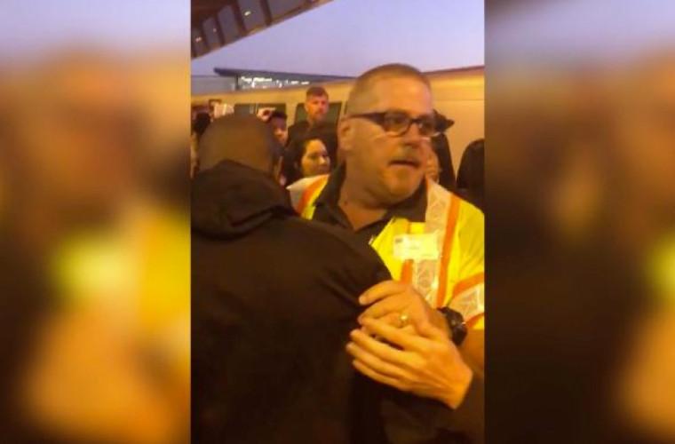 Un pasager care căzuse pe șine a fost salvat în mod miraculos