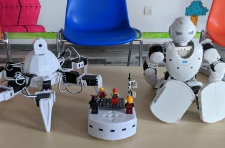 Elevi din Moldova vor participa la un concurs de robotică