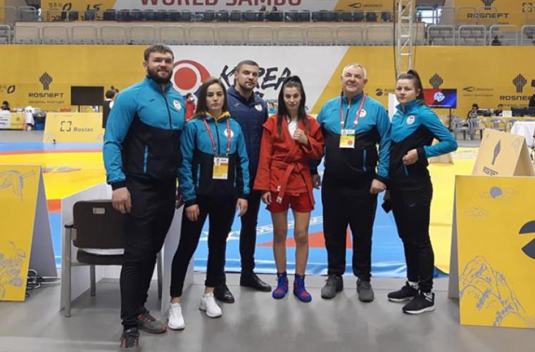 Ana Maria Ciobanu a cucerit bronzul la Mondialul de sambo