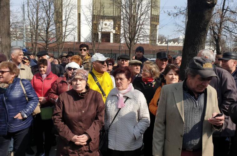 Блок ACUM объявляет митинг в поддержку правительства Санду