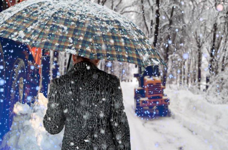 După inundaţii, Italia este afectată de ninsori