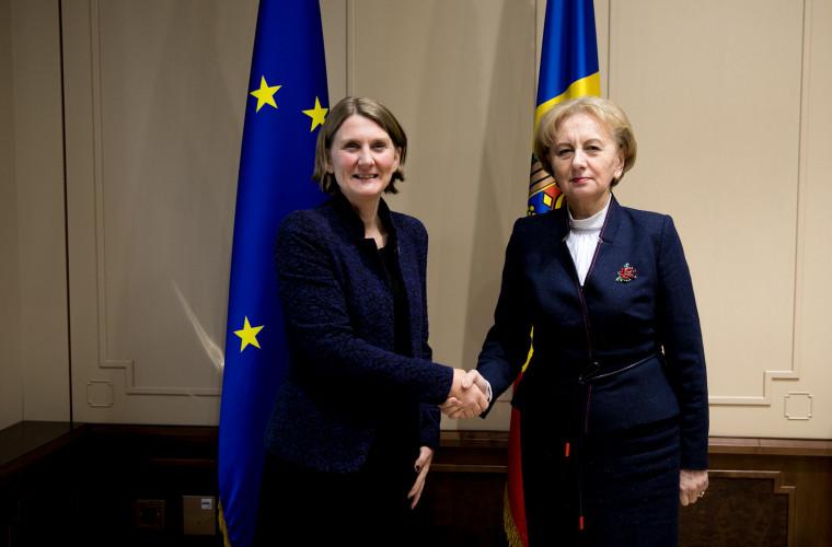 Zinaida Greceanîi a avut o întrevedere cu ambasadorul Suediei