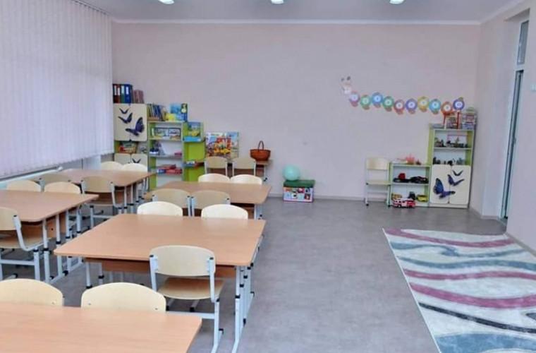 O grădiniță din sectorul Ciocana a fost redeschisă: Primele imagini